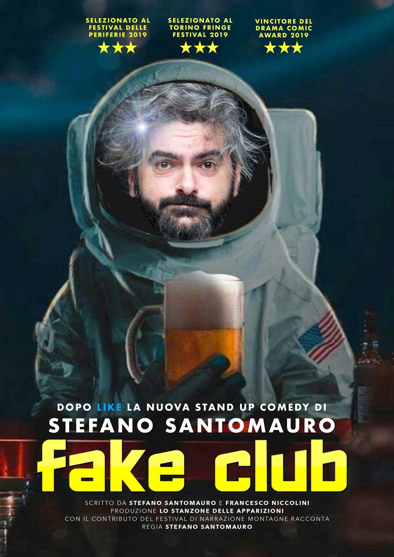 locandina Fake Club Stefano Santomauro