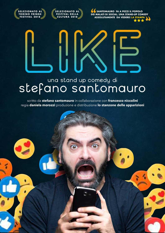 Locandina Like Stefano Santomauro